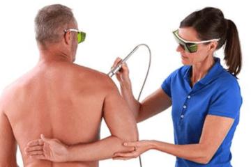 Smertebehandling med laser